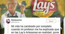 Enlace a Te explota la cabeza cuando ves que en el envase de Lays Artesanas pone Artesancis, y el motivo es bastante oscuro e incierto