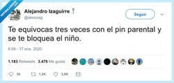 Enlace a Menuda se está liando con lo del pin parental, por @alexizag