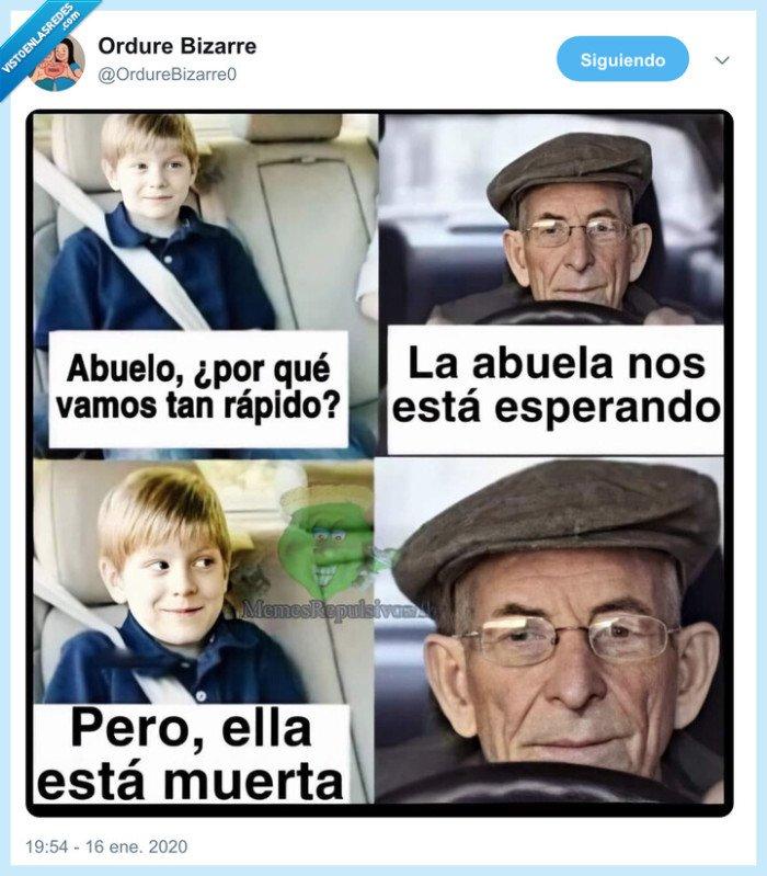 abuelo,accidente,cielo,coche