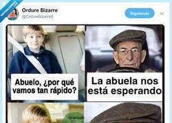 Enlace a El abuelo sabe lo que dice, por @OrdureBizarre0