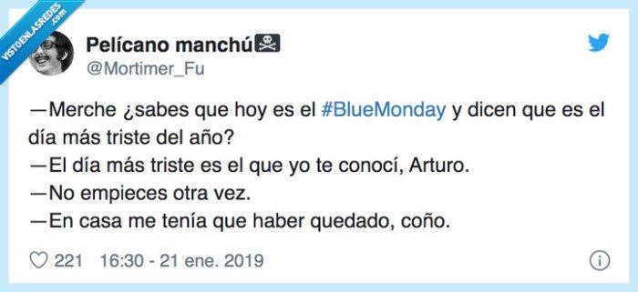 537339 - Los memes del 'Blue Monday', el día más triste del año, que harán que sea un poco menos triste