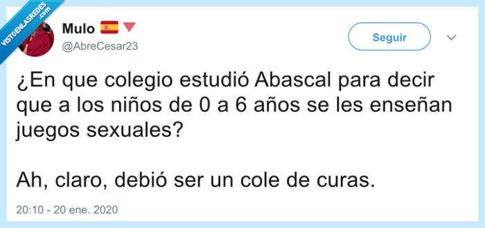 abascal,colegio,educación sexual