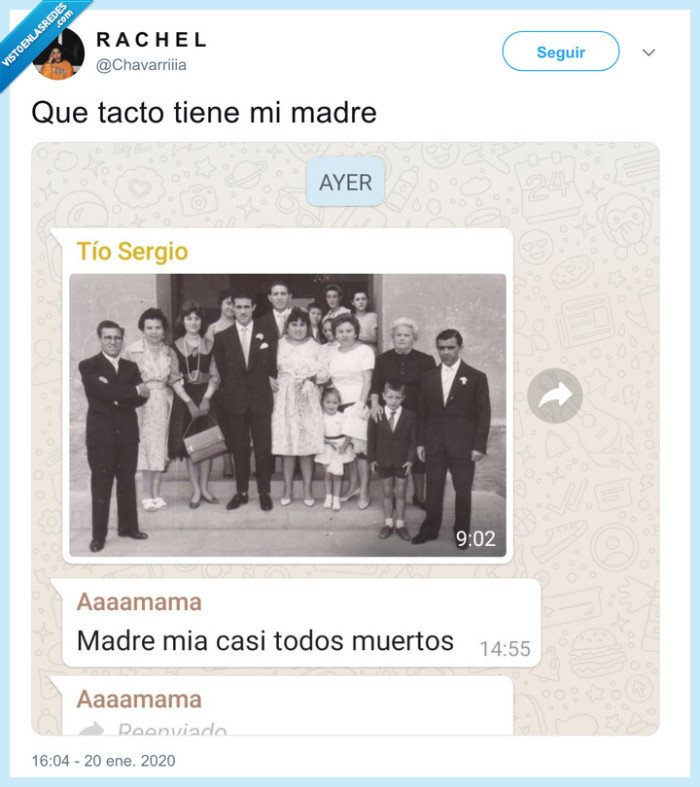 madre,muerte,sensibilidad,whatsapp