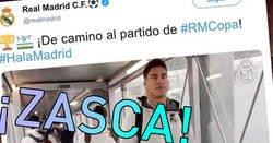 Enlace a Zasca al Real Madrid por un desplazamiento en avión de 15 minutos, por @sanchecito_98