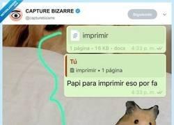Enlace a Cuando tienes un troll por padre, por @capturebizarre