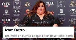 Enlace a Acusan de machismo de mie*da a El Mundo por sus comentarios de las mujeres en los Premios Goya