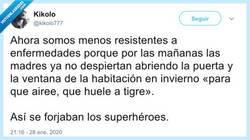 Enlace a Así se forjaban los superhéroes, por @kikolo777