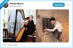 Enlace a Él solo quería tocar el arpa, por @Profeta_Baruc