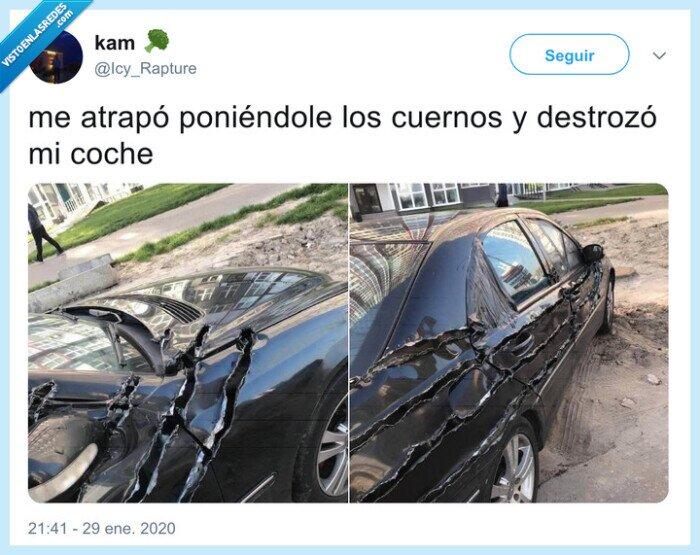 coche,ex,rasgar