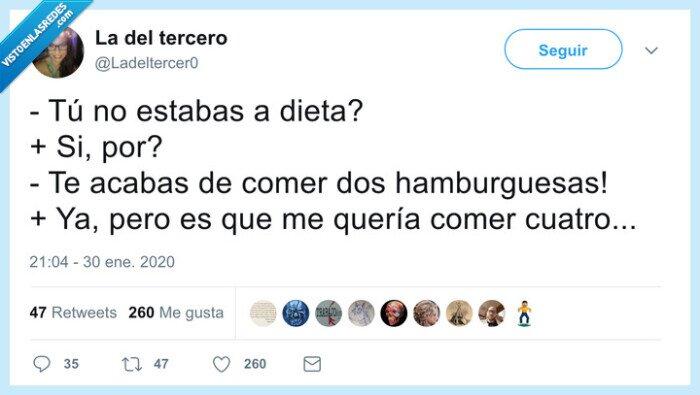 dieta,hamburguesas