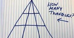 Enlace a ¿Cuántos triángulos ves en esta imagen? El nuevo reto geométrico que es más sencillo de lo que parece