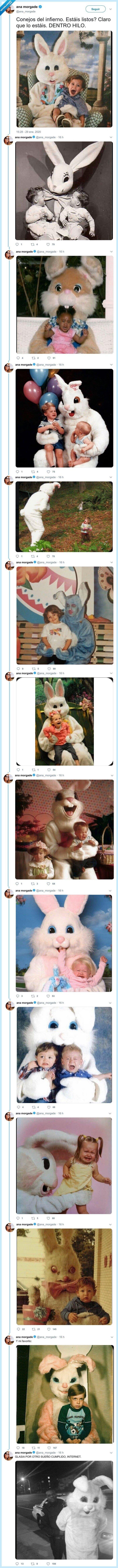 conejos,cuniculifobia,disfraces,mal rollo