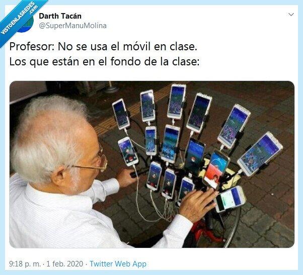 clase,fondo,móvil,profesor