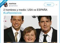 Enlace a 2 hombres y medio: USA vs ESPAÑA, por @maarinalecc