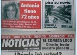 Enlace a Noticias del Mundo fue un referente en los periódicos de nuestro país por portadas como éstas, por @dmartinezpr