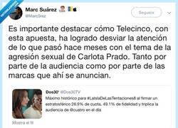 Enlace a Barrer debajo de la alfombra, para Telecinco, es limpiar, por @MarcSrez