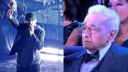 Enlace a Eminem cantando