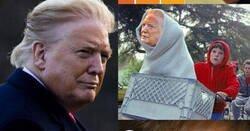Enlace a Los mejores memes de la foto de Donald Trump y las marcas del bronceado en su cara
