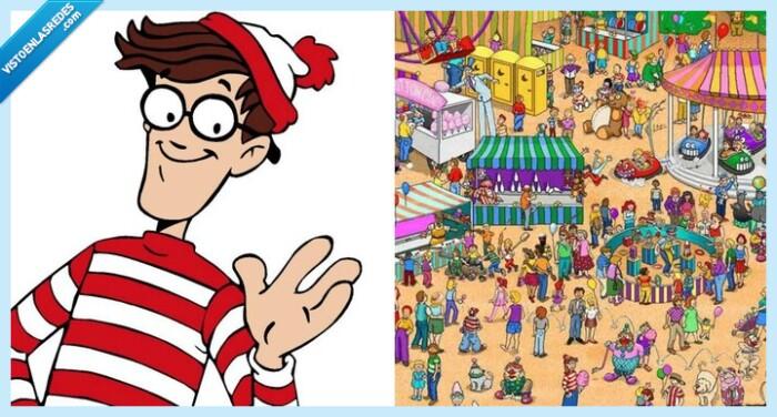 540053 - Se compra este libro de ¿Dónde está Wally? y hace lo peor que puede hacer con él, el mayor crimen de la historia