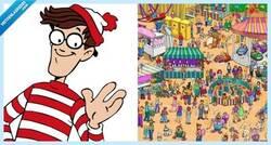 Enlace a Se compra este libro de ¿Dónde está Wally? y hace lo peor que puede hacer con él, el mayor crimen de la historia