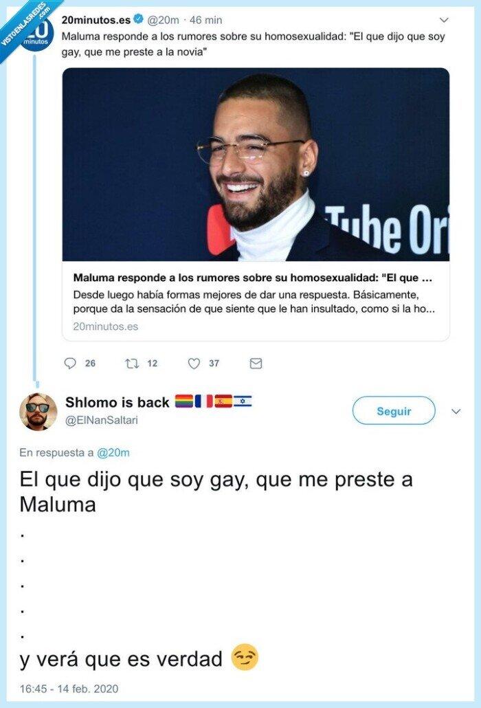 gay,maluma,ofendiditos,qué más da,unga unga
