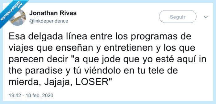 loser,programas,tv,viajes