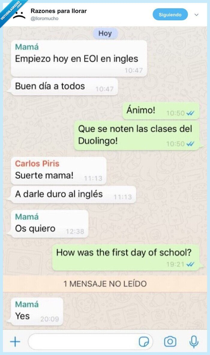 eoi,inglés,madre