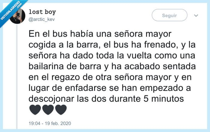 abuelas,autobús,buen rollo