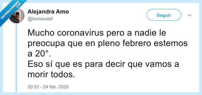 calor,coronavirus,relación