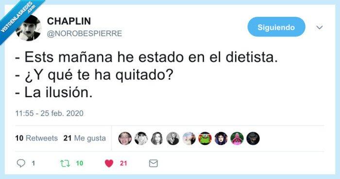 dietista,ilusión,pizza