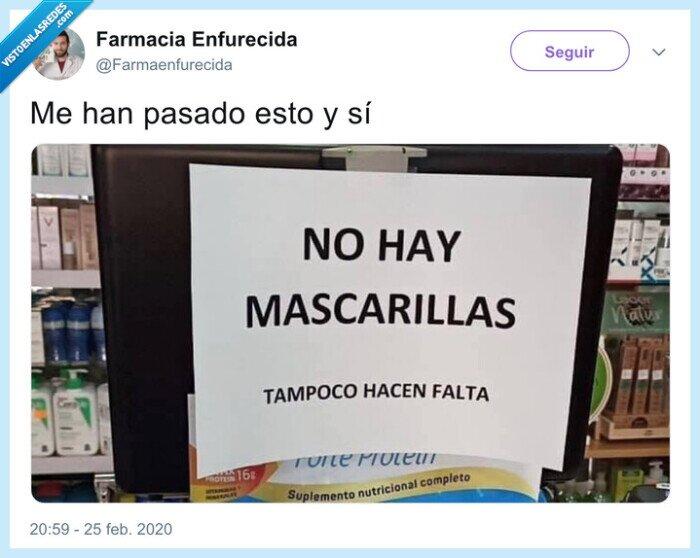 coronavirus,farmacia,mascarilla