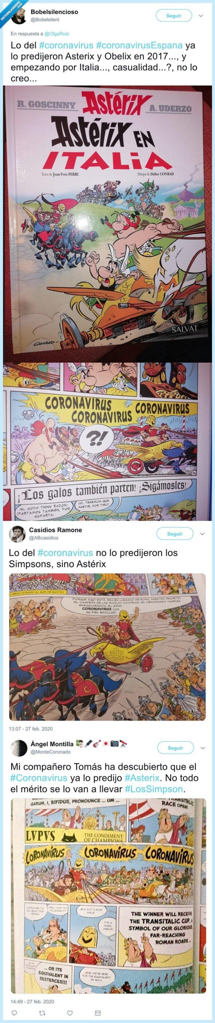 asterix,coronavirus,italia,predicción