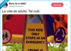 Enlace a De nada sirve llorar cuando eres adulto, por @menchubasquero