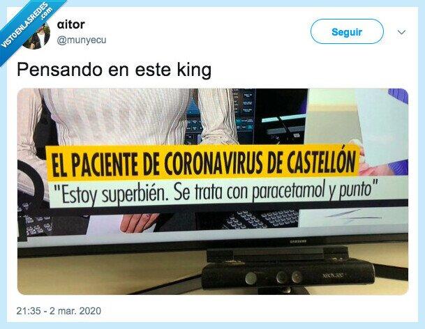 coronavirus,paracetamol