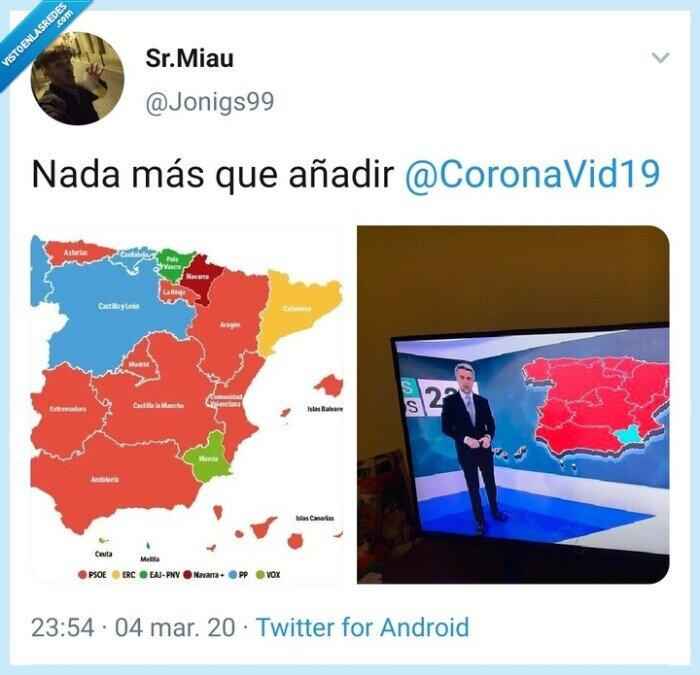 Coronavirus,Murcia,Noticias,Twitter