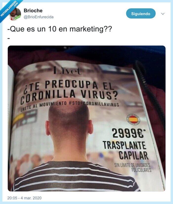 coronavirus,coronilla virus