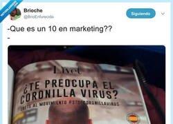 Enlace a 10 en marketing, por @BrioEnfurecida