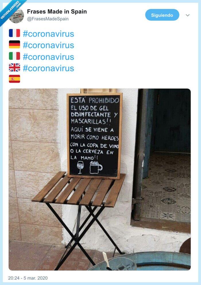 bar,contagio,coronavirus,españa
