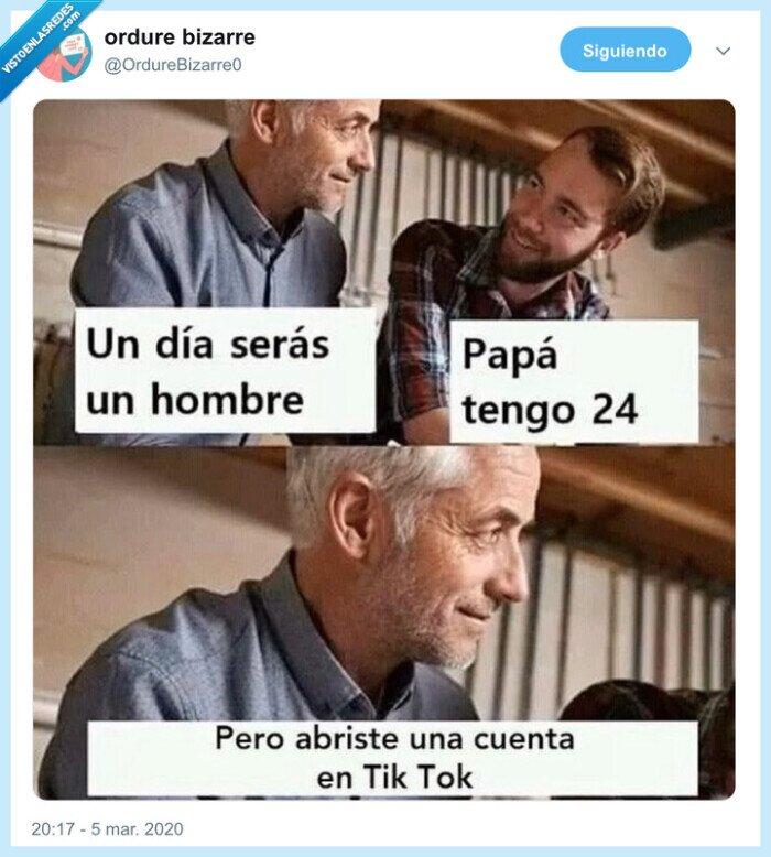 hombre,madurar,tiktok