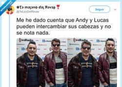 Enlace a Cambias la cabeza de Andy por una piña y tampoco se da nadie cuenta, por @TeLeoDelReves