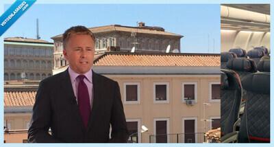 542716 - Un periodista resume con esta foto una de las consecuencias que está teniendo Italia por el coronavirus