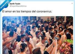 Enlace a Mejor que sea una boda íntima por @supermanumolina