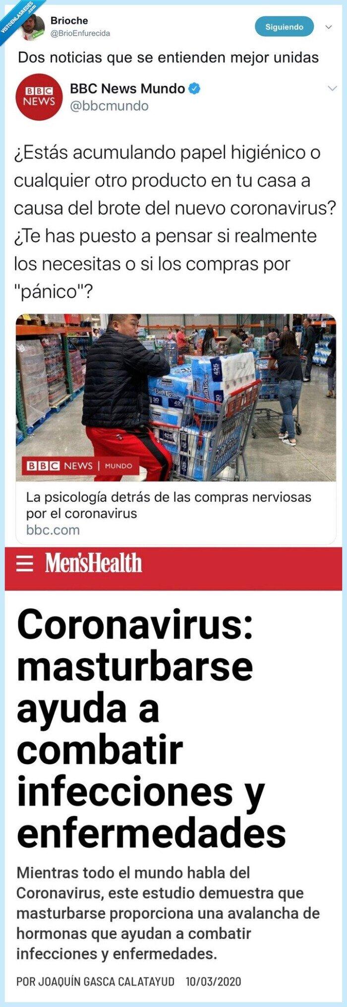 coronavirus,papel higiénico,tocarse