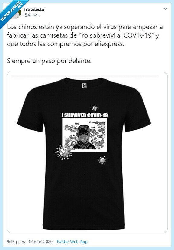 aliexpress,camiseta,Chinos,Corona virus,Virus
