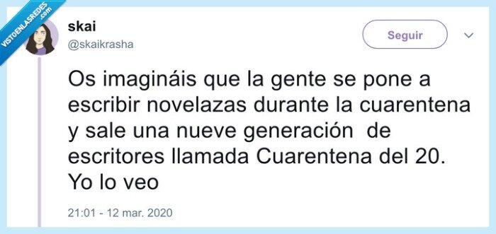 coronavirus,cuarentena,literatura
