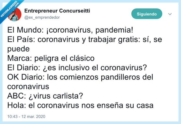 coronavirus,prensa,titulares