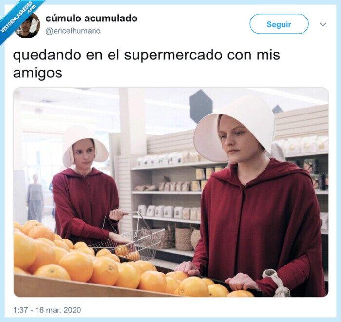 coronavirus,quedar,supermercado
