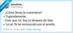 Enlace a Conversaciones de cuarentena volviéndonos locos, por @SabesAPollo
