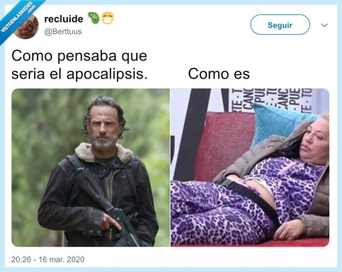 apocalipsis,belén esteban,coronavirus,the walking dead,zombies