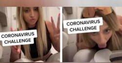 Enlace a Retraso extremo: La influencer Ava Louise reta al coronaviruschallenge